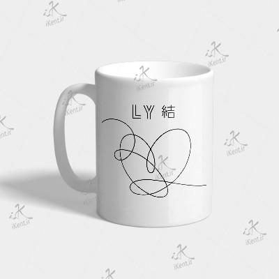 ماگ BTS طرح LoveYourself.LY2