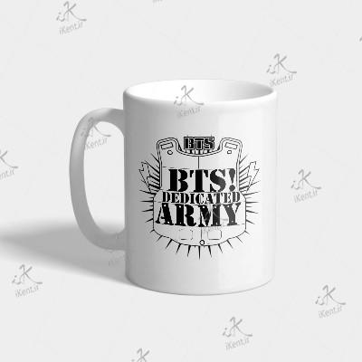 ماگ BTS طرح BTS ARMY.BA4
