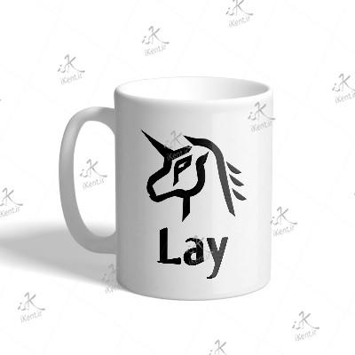 ماگ EXO طرح Lay Power
