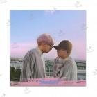 تابلوی امدیاف (20x20 سانتی متر) EXO طرح CB Pink World