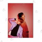 تابلوی امدیاف (20x28 سانتی متر) EXO طرح CB Love Shot.01