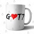 ماگ GOT7 مدل 02