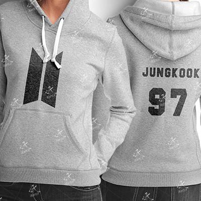 هودی BTS طرح Jungkook