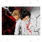 تابلوی امدیاف (20x28 سانتی متر) Death Note01