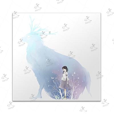 تابلوی امدیاف (20x20 سانتی متر) Princess Mononoke09