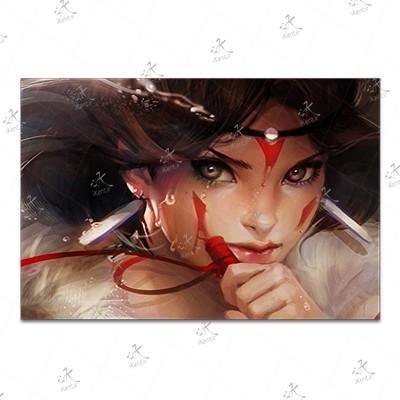 تابلوی امدیاف (20x28 سانتی متر) Princess Mononoke13