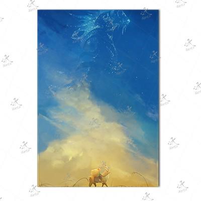 تابلوی امدیاف (20x28 سانتی متر) Princess Mononoke14