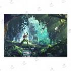 تابلوی امدیاف (27x37 سانتی متر) Princess Mononoke19