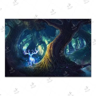 تابلوی امدیاف (20x28 سانتی متر) Princess Mononoke20