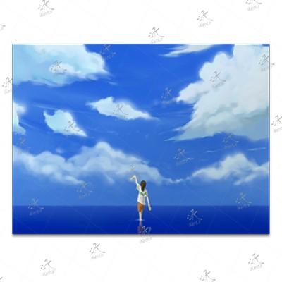 تابلوی امدیاف (27x37 سانتی متر) Spirited Away25
