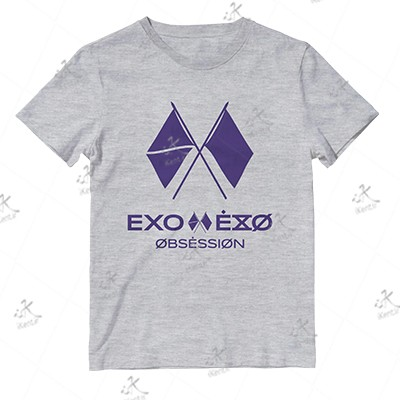 تیشرت EXO طرح OBSESSION