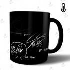 ماگ حرارتی BTS طرح All Member Sign مدل Classic