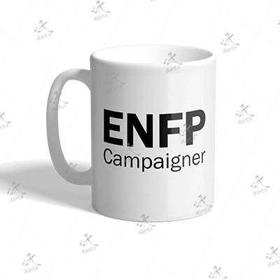 ماگ MBTI طرح ENFP